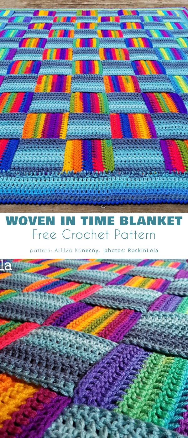 Woven In Time Blanket