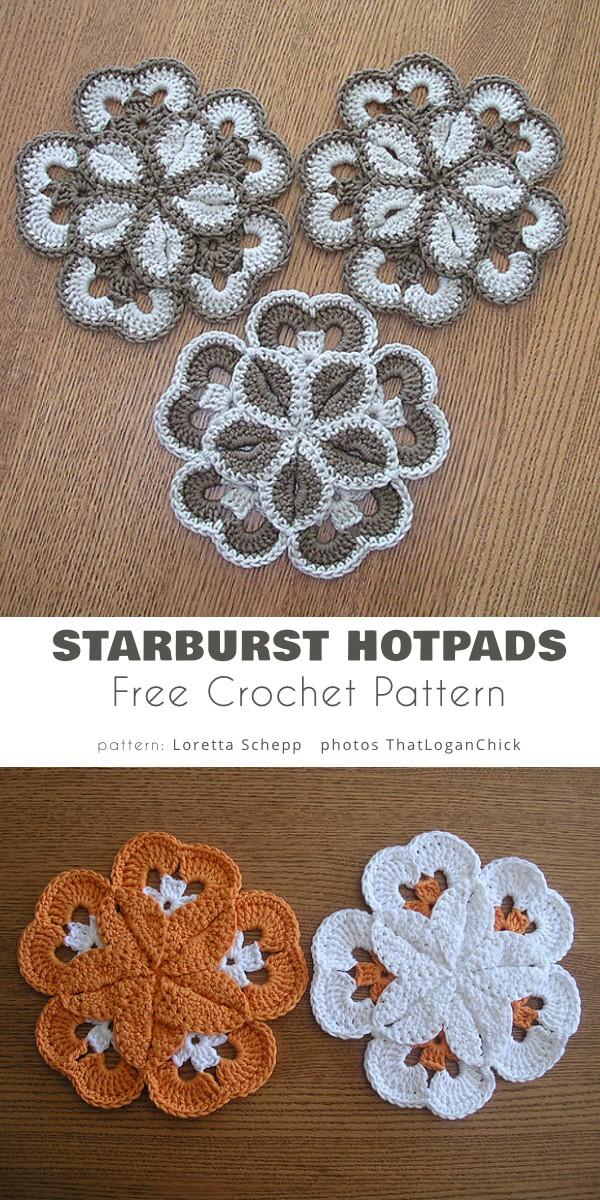 Starburst Hotpads