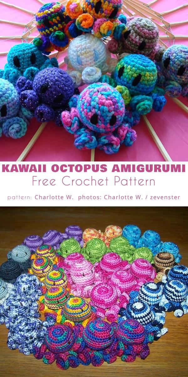 Kawaii Octopus Amigurumi