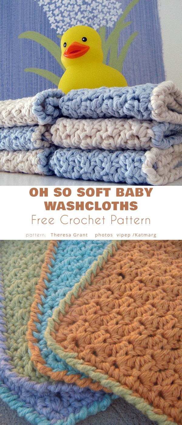 Oh So Soft Baby Washcloths