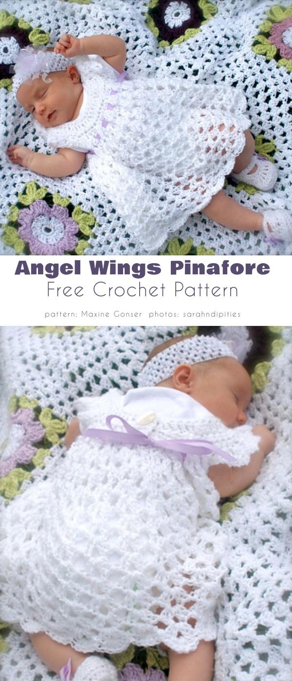 Angel Wings Pinafore