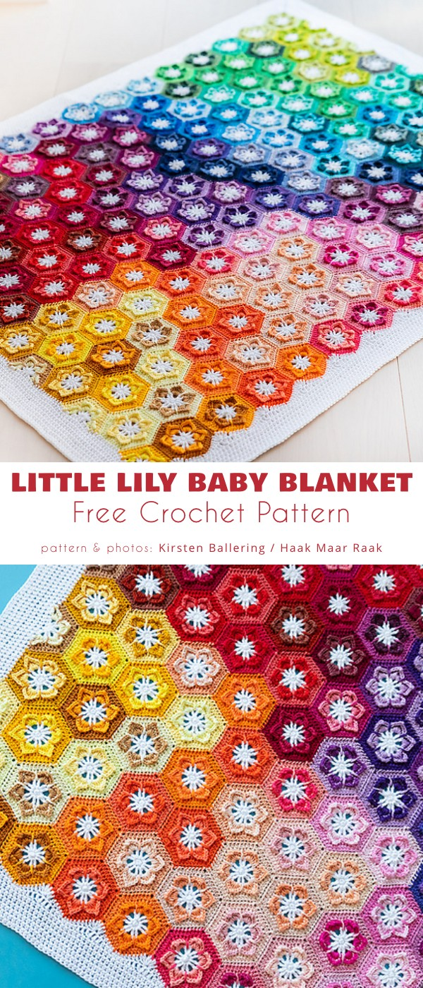 Little Lily Baby Blanket
