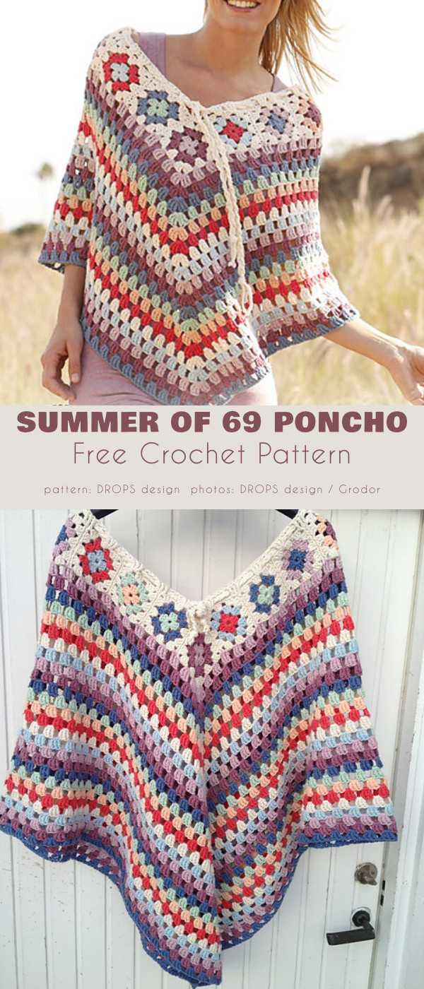Summer of 69 Poncho