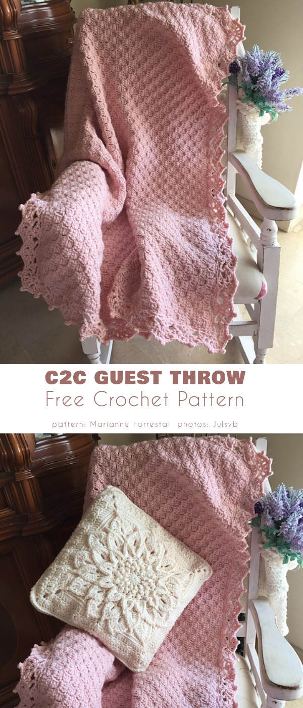 C2C Guest Throw