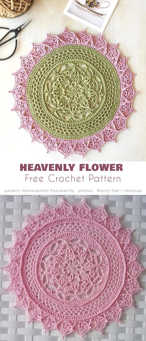 Heavenly Flower Doily