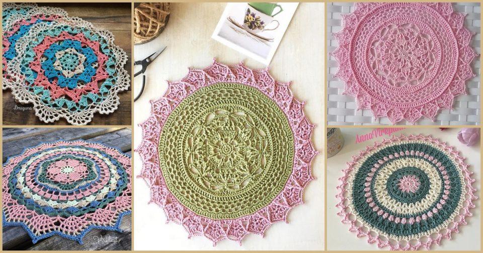 lacy doily free crochet patterns