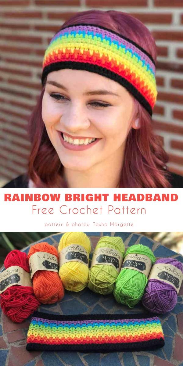Rainbow Bright Headband