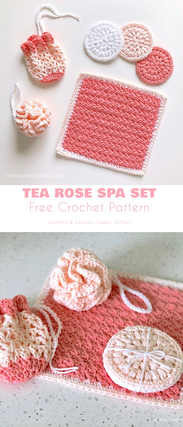 Tea Rose Spa Set