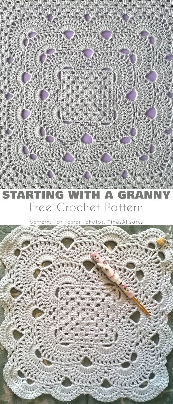 Starting with a Granny Square