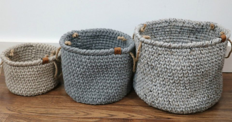 Basket Free Crochet Patterns