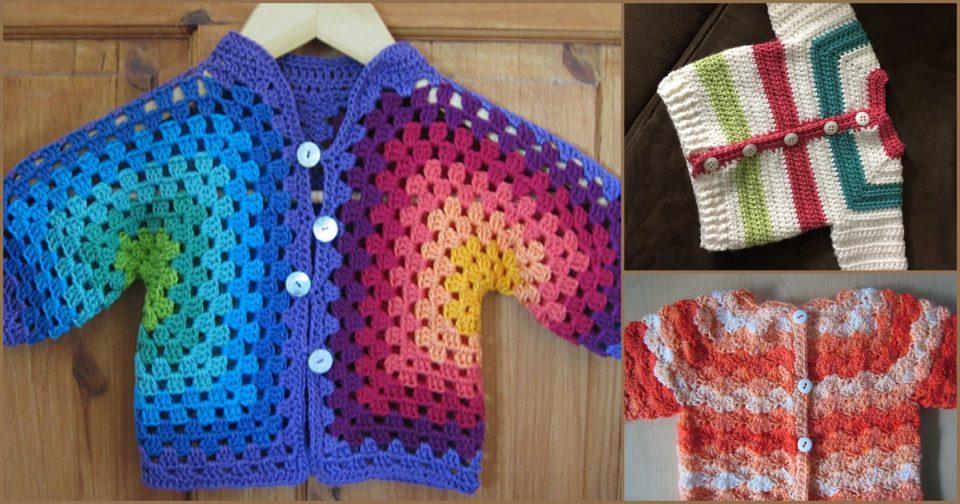 Baby Jacket Free Crochet Patterns