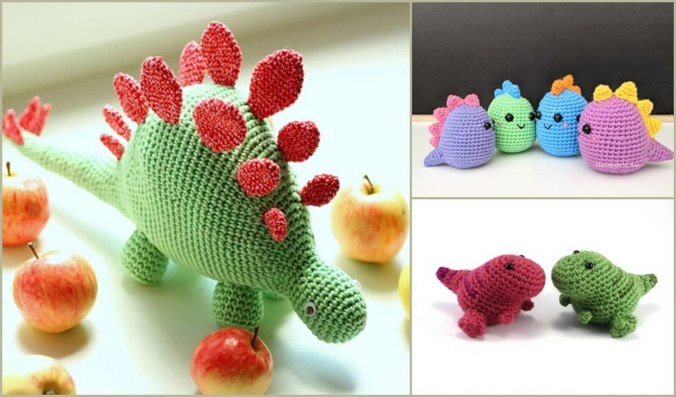 Dino Free Crochet Patterns