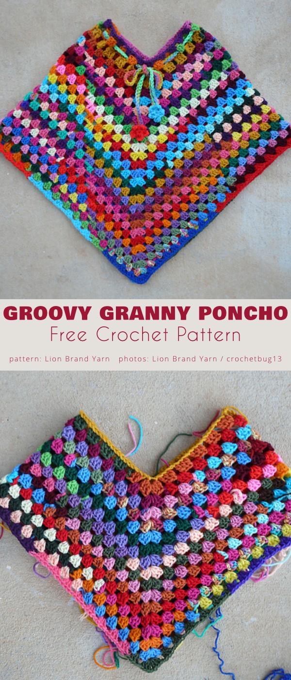 Groovy Granny Poncho