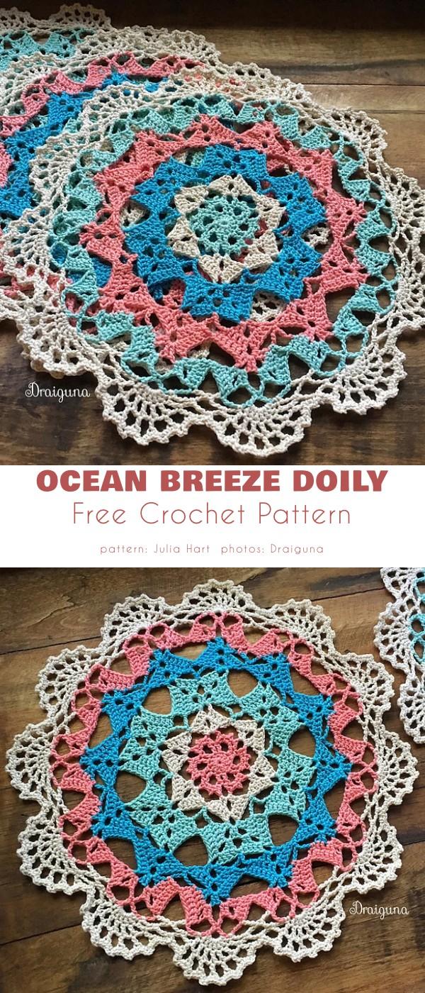 Ocean Breeze Doily