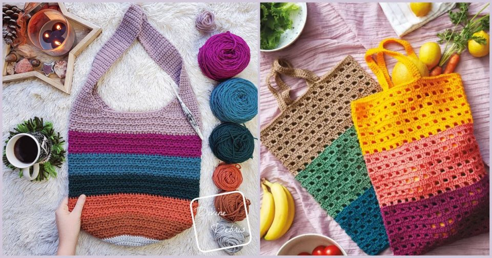 Crochet Tote and Bags Ideas