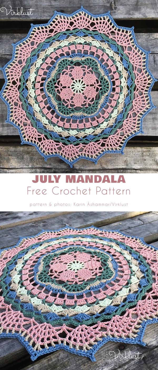 July Mandala