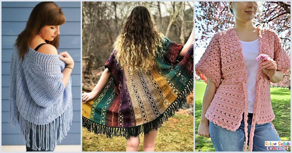 Crochet Kimono Cardigans