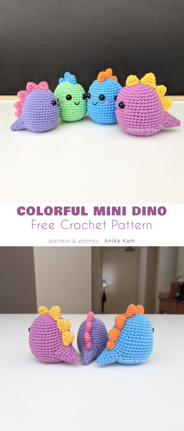 Colourful Mini Dino