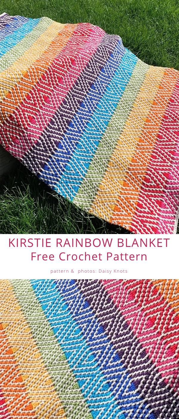 Kirstie Rainbow Blanket