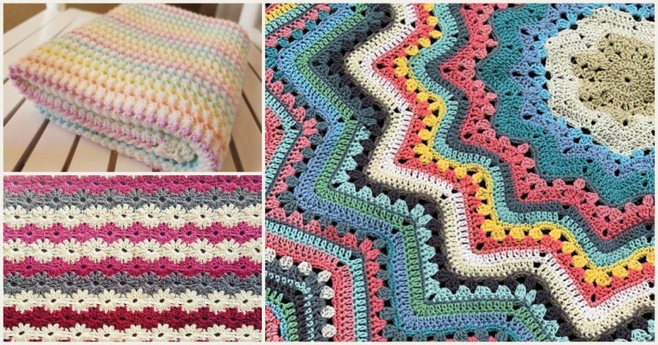 Spring Baby Blanket Free Crochet Patterns