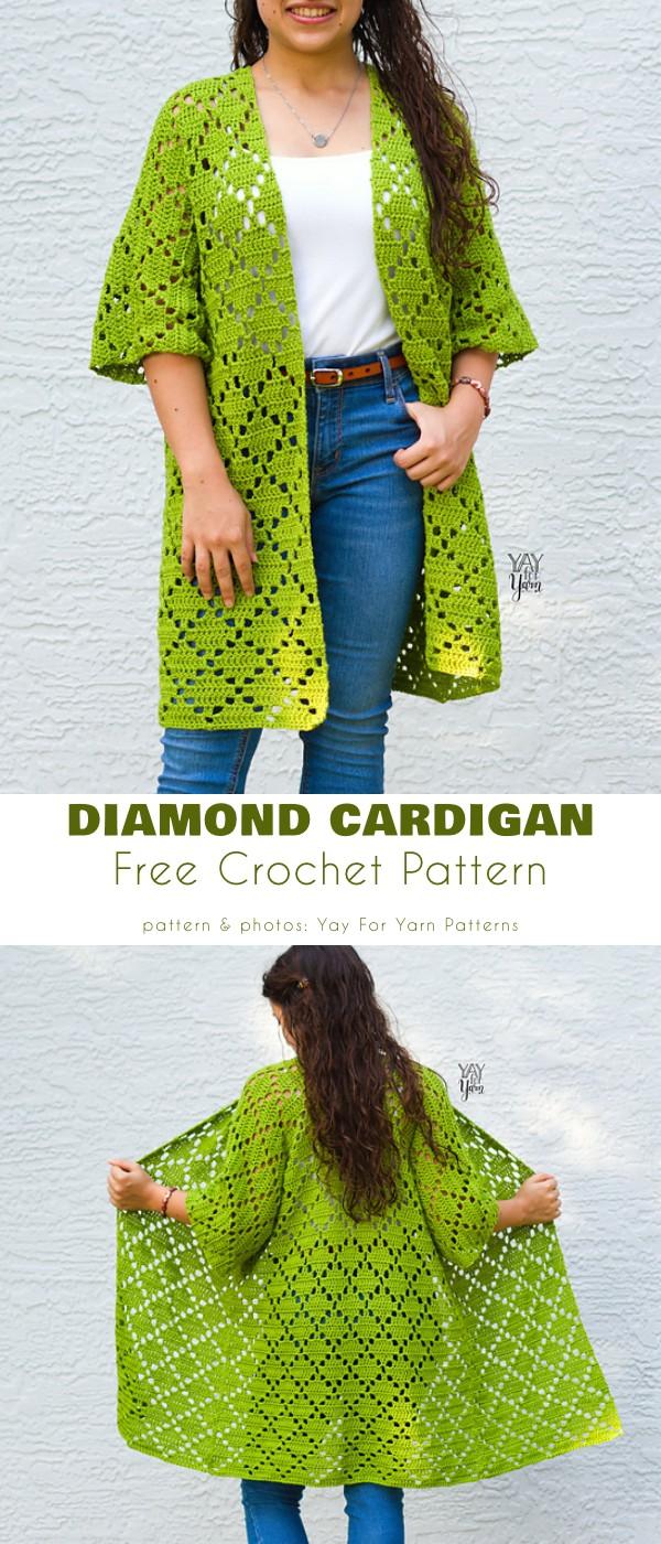 Diamond Cardigan