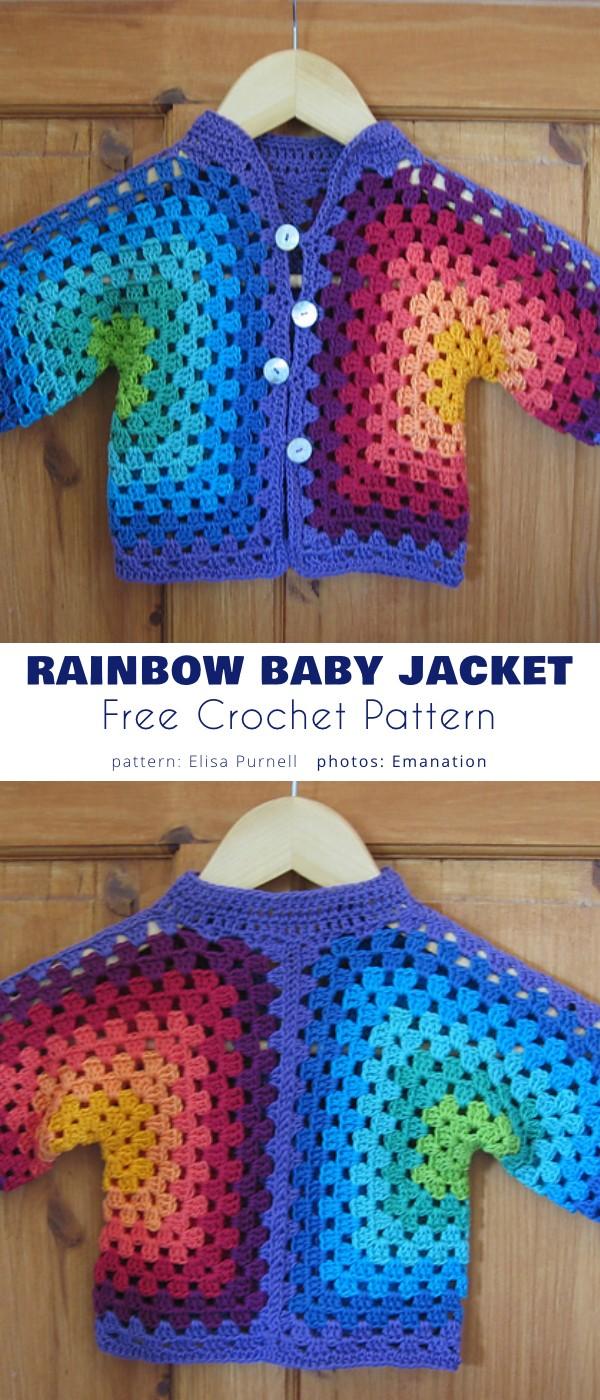 Hexagon Baby Jacket