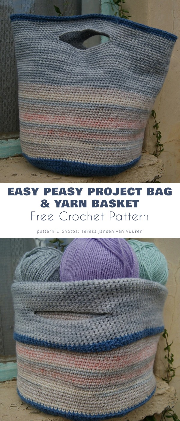Easy Peasy Project Bag