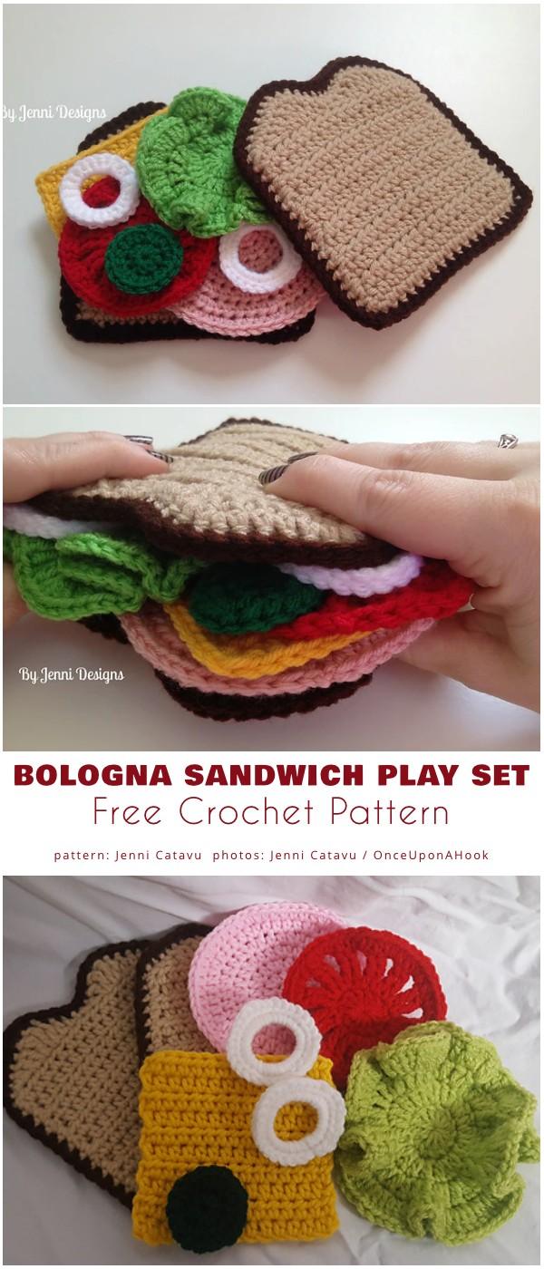 Bologna Sandwich Play Set