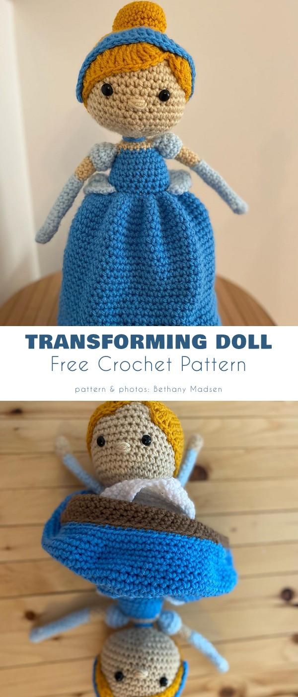 Transforming Maid to Princess Doll