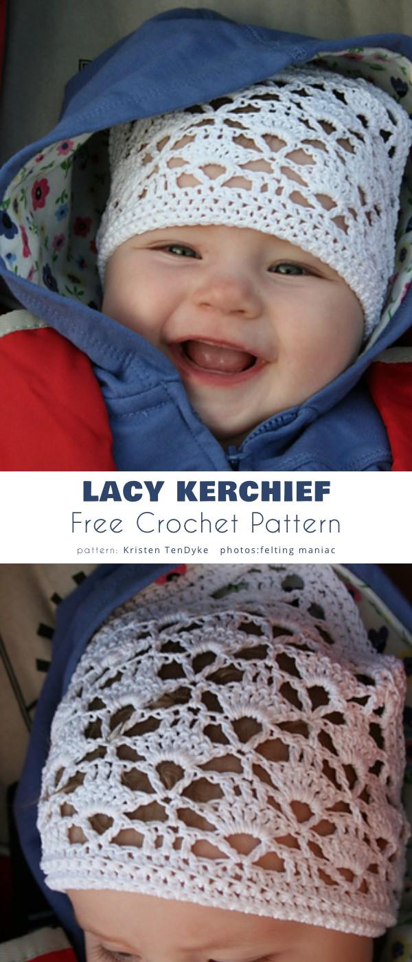Lacy Crochet Kerchief