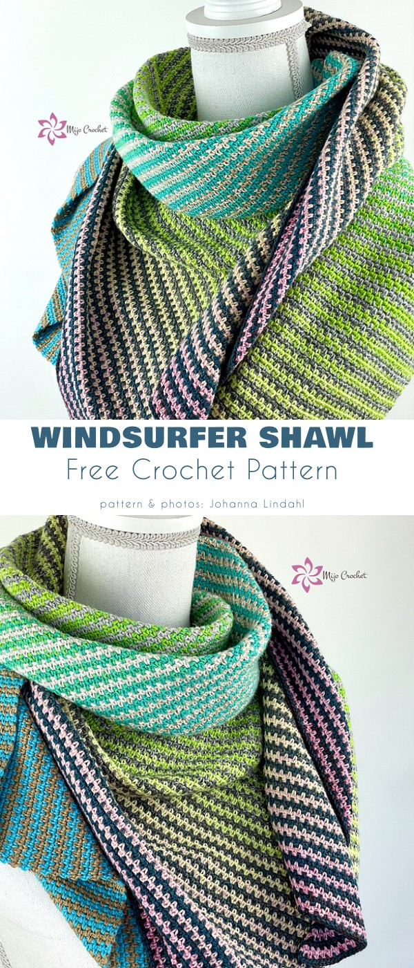 Windsurfer Shawl