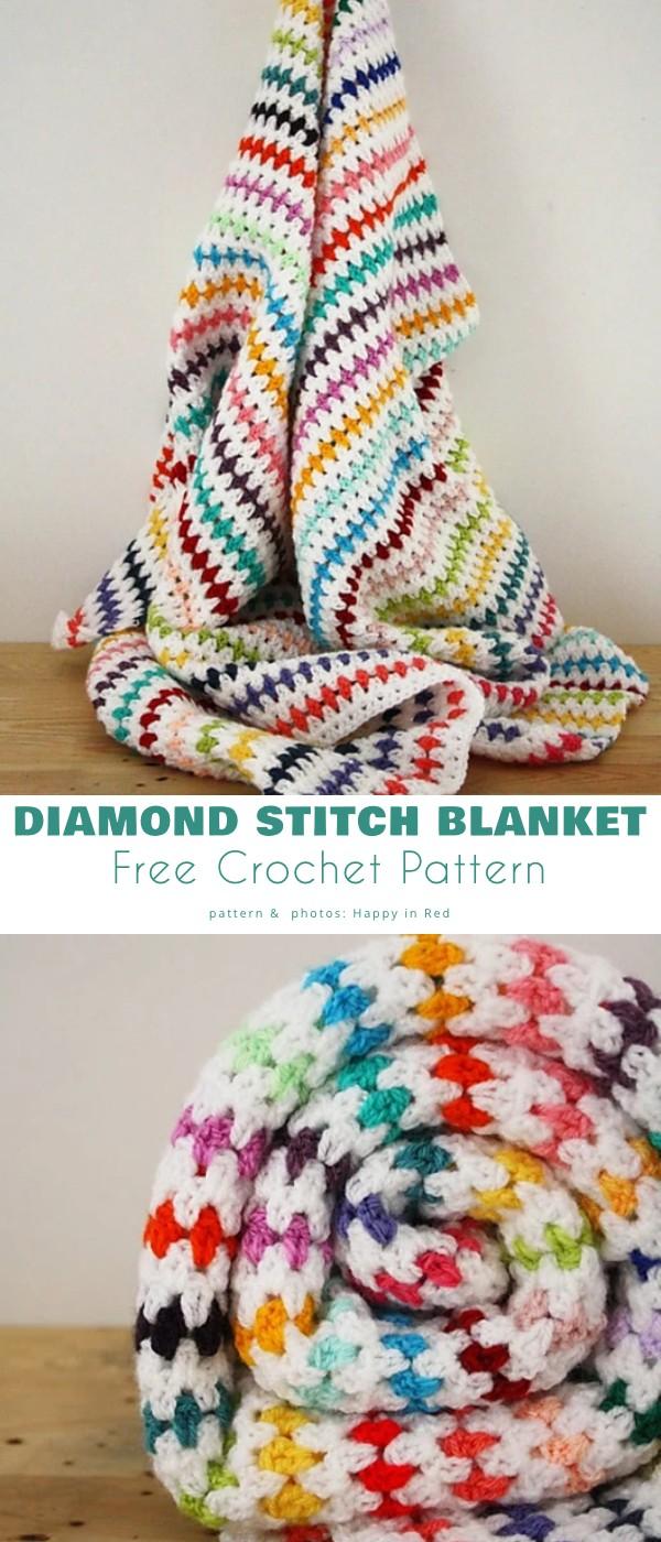 Diamond Stitch Blanket