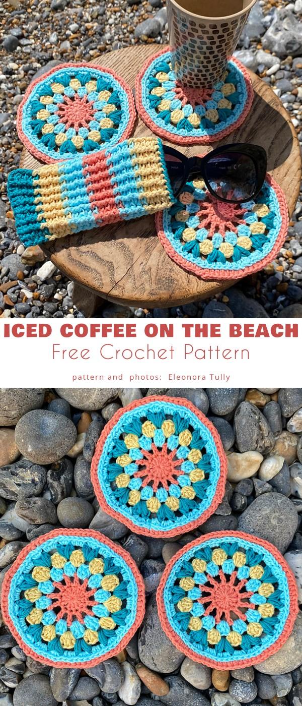 Iced Coffee on The Beach