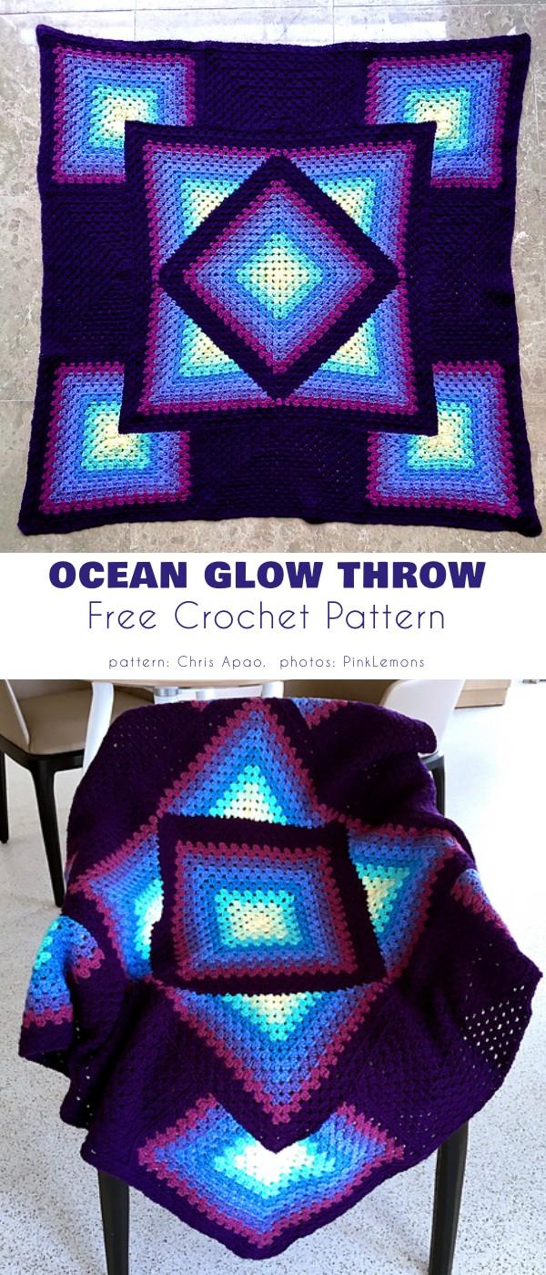 Ocean Glow Blanket