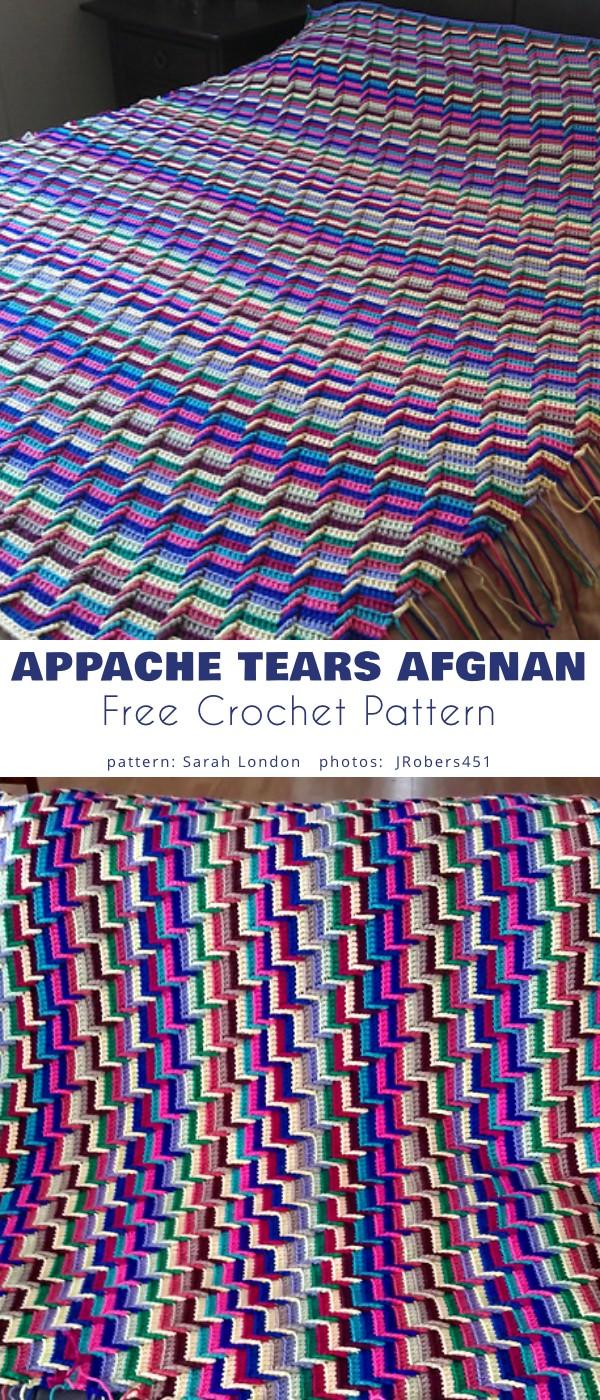 Appache Tears Afghan