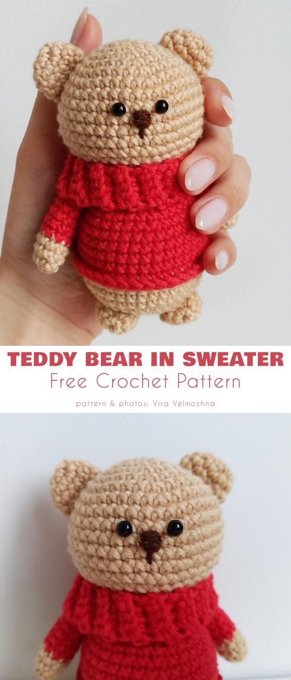 Teddy Bear in Sweater