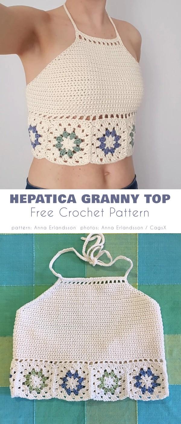 Hepatica Granny Top