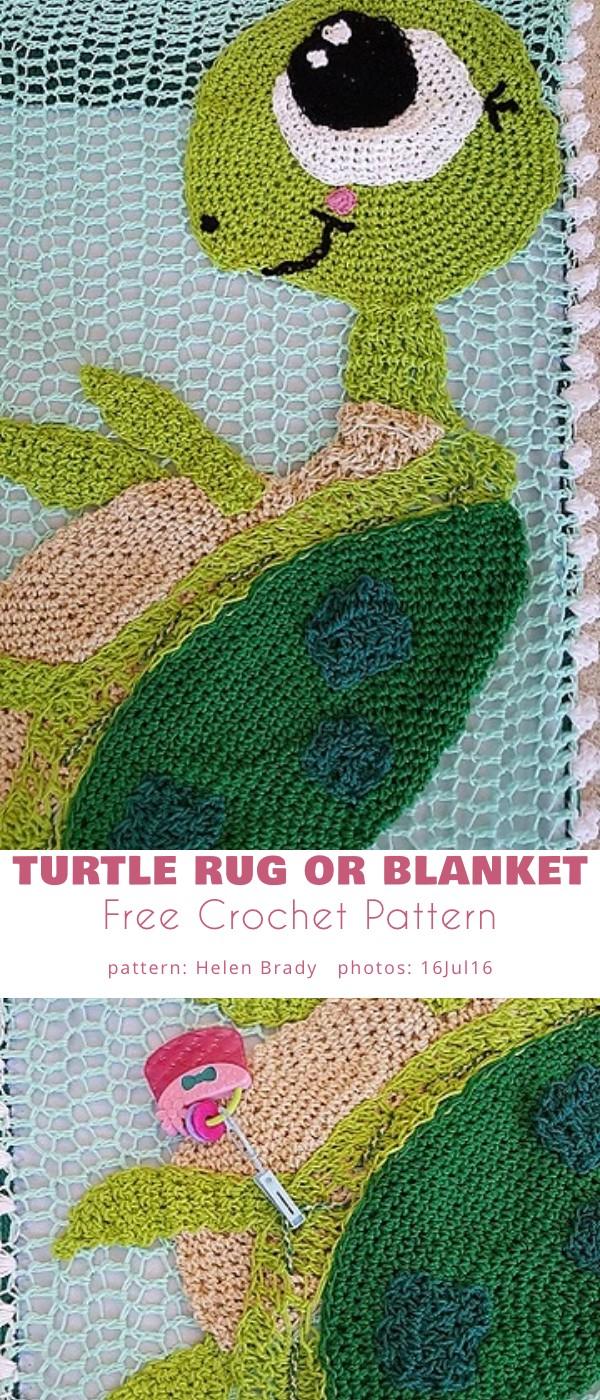 Turtle Rug or Blanket