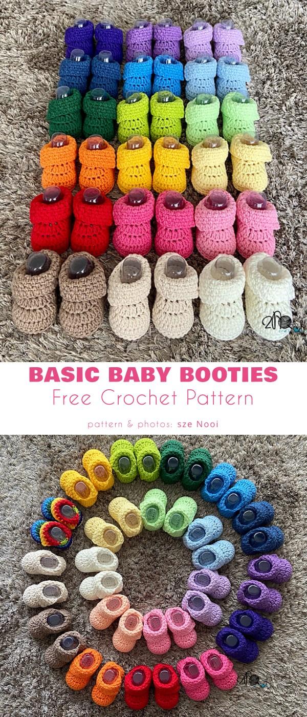 Basic Baby Booties