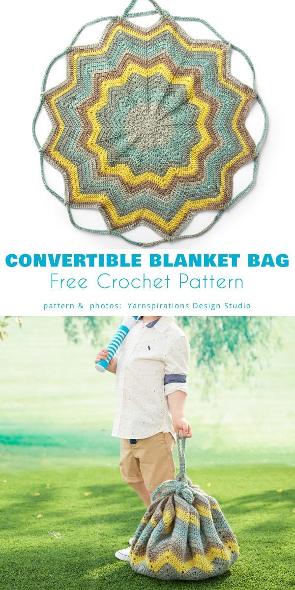 Convertible Blanket to Bag