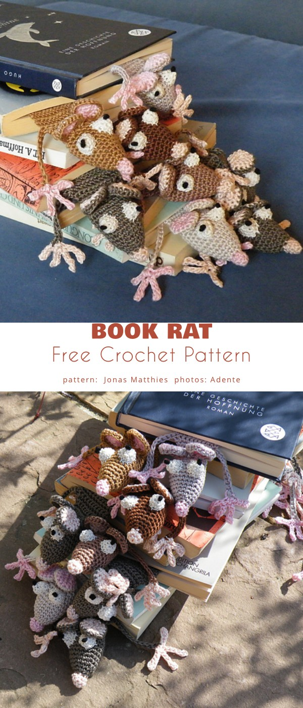 Book Rat Bookmark