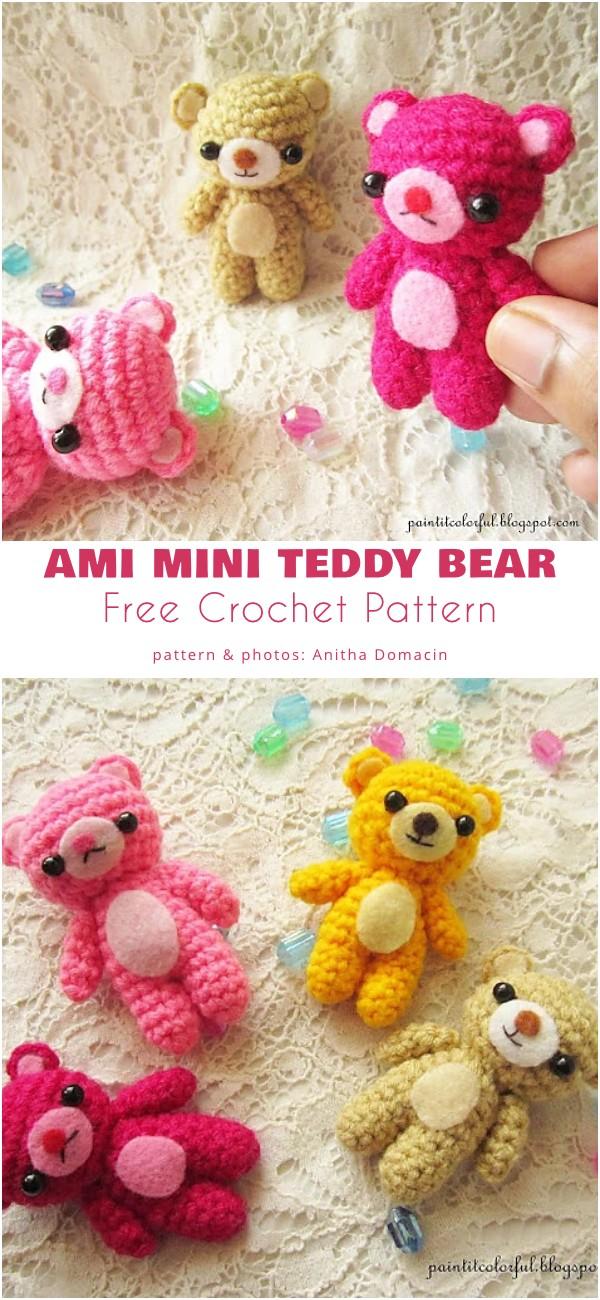 Ami Mini Teddy Bear