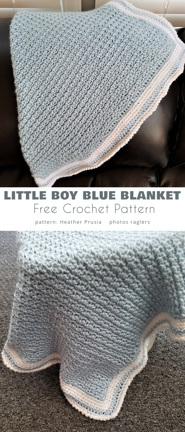 Little Boy Blue Blanket