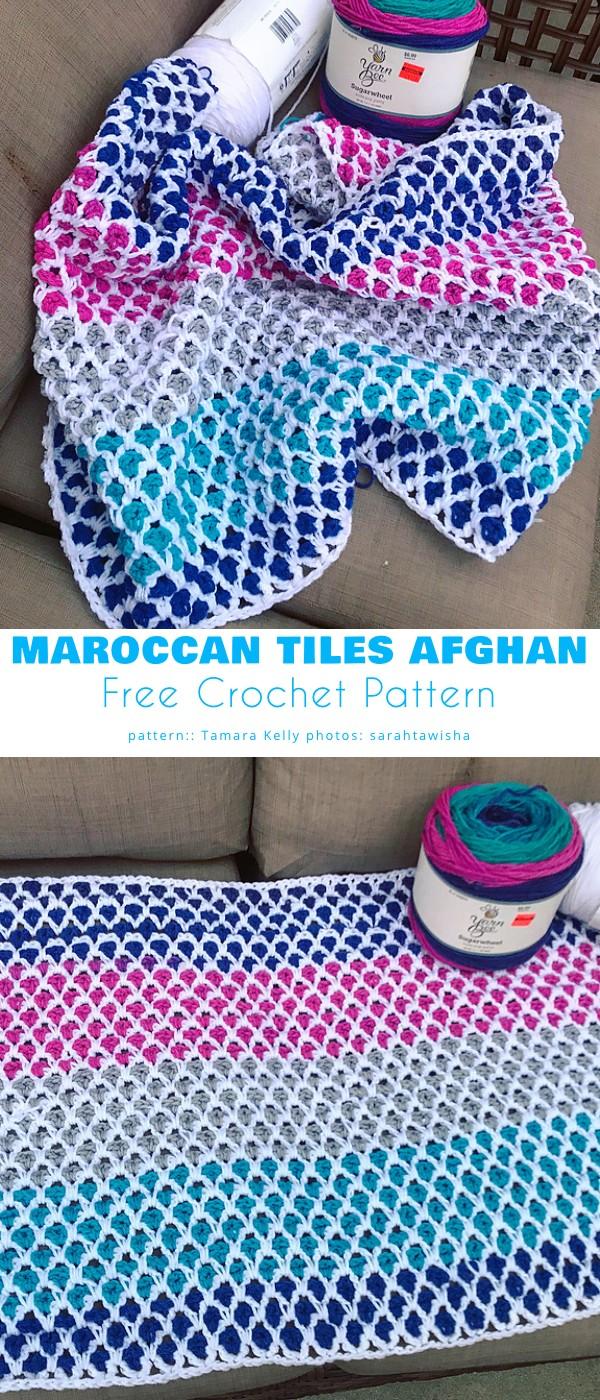 Moroccan Mermaid Blanket
