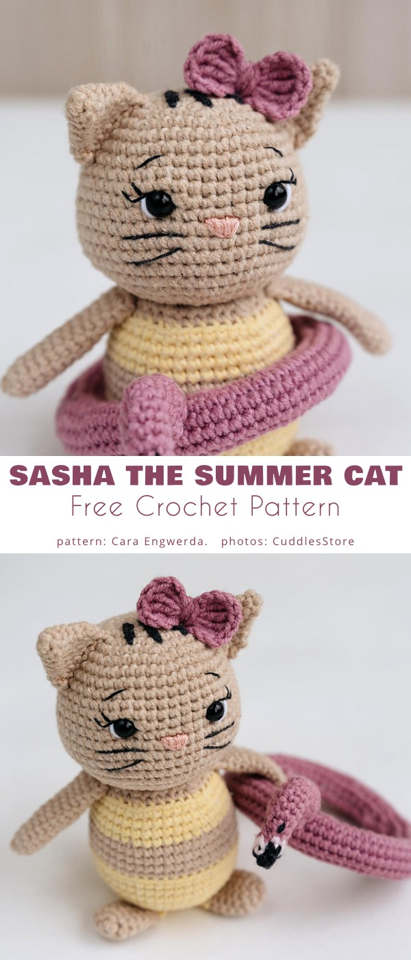Sasha The Summer Cat