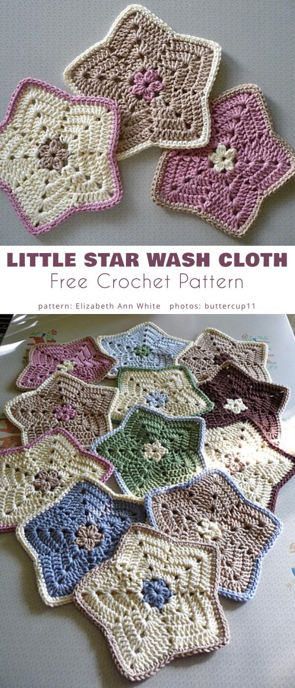 Little Star Dish Cloths