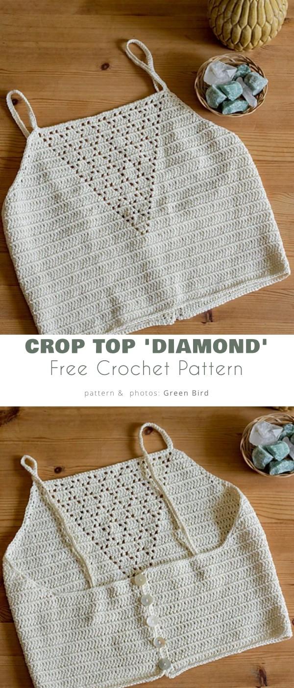 Crop Top 'Diamond'