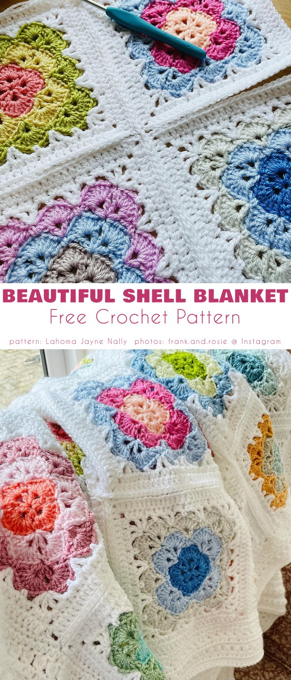 Beautiful Shell Blanket