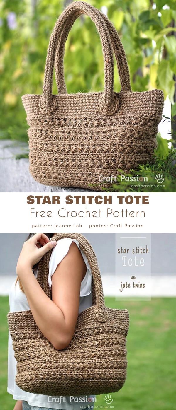 Star Stitch Tote