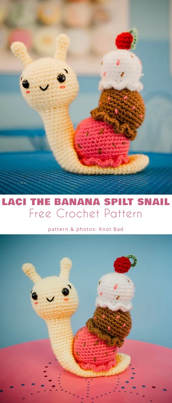 Laci the Banana Split Snail